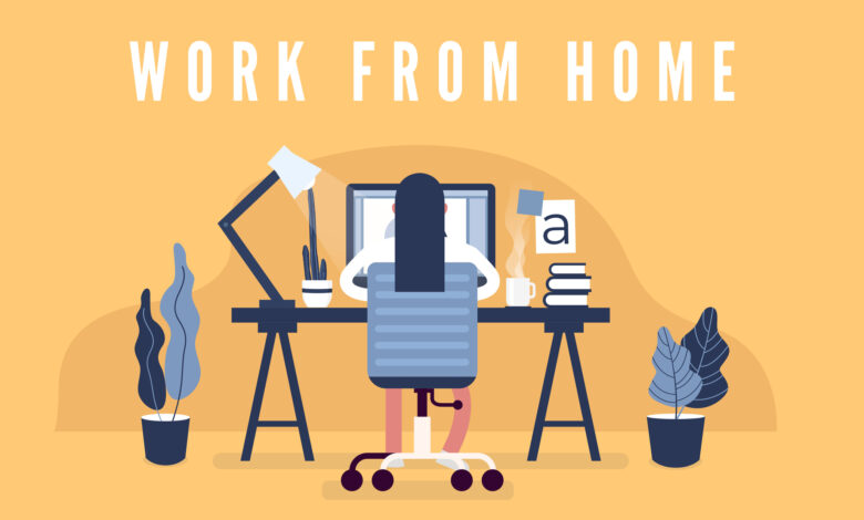 4 Tips For Working From Home The Right Way