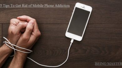 5 Tips To Get Rid of Mobile Phone Addiction - Mobile Impacts on Life