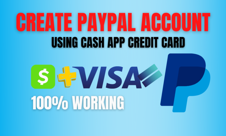 how to crate paypal account